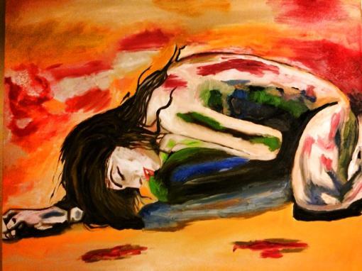 Sie entdeckt die Heiligkeit ihres Körpertempels