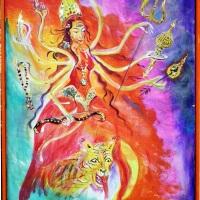 Die Göttin Durga: Grenzen setzen, Raum nehmen