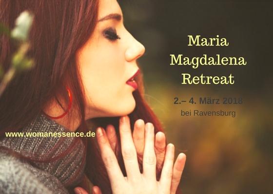Maria Magdalena Retreat 2018 neu